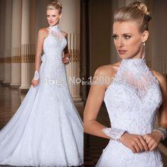 7-1 Custom Made Vestido De Noiva 2014 A-Line A-Line Wedding Dresses   Buy Wholesale On Line Direct from China