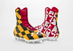 Maryland awesome cleats!