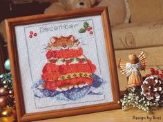 Margaret Sherry: Calendar Cats (December)