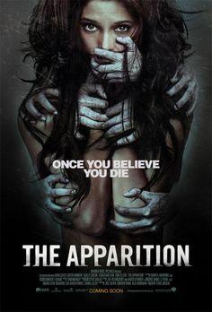 Cartel de la película de terror The Apparition