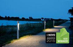 Bolardo de iluminación / fijo / para balizamiento / LED FLINDT Louis Poulsen Lighting A/S International