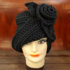 Unique Crochet Hat Patterns for Women - Crochet Cloche Hat Pattern for the OMBRETTA Cloche Hat - Winter Fashion