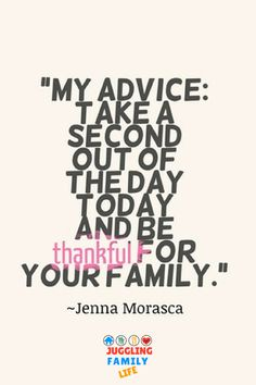 quote about being thankful for your family