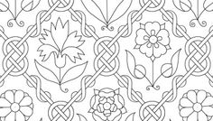 Freehand Blackwork Embroidery Tutorial and Patterns - By Sidney Eileen