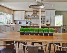 Coolest Modern Rustic White Kitchen