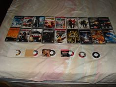 Some of my PSP Games