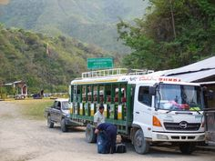 "Ecuador Peru Border Crossing ""Las Balsas"" in the jungle south of Zumba"