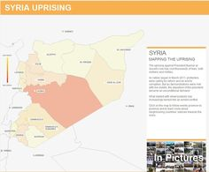 Mapping the Uprising in Syria [interactive]