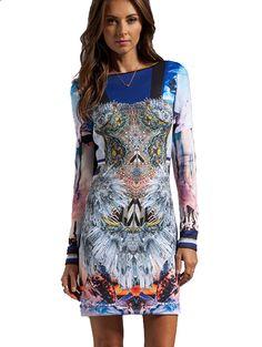 Shop trendy long sleeve dresses fbbef4977234