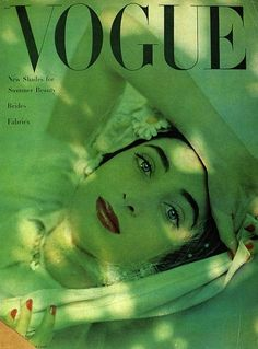 Vogue, May 1948 | 10 Stunning Vintage Magazine Covers Featuring Carmen DellOrefice