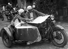 1935 all-women's race in the Hague, Holland.