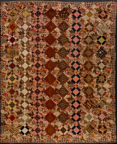Legacy in Quilts: Cyril Irwin Nelson's Final Gifts to the American Folk Art Museum Old Quilts, Strip Quilts, Antique Quilts, Vintage Quilts, Quilt Blocks, Nine Patch Quilt, Civil War Quilts, Traditional Quilts, Antique Dolls