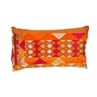 Vintage Phulkari Pillow