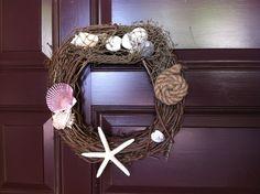 DIY nautical wreath I just made!:)