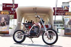 1st Place Scrambler NORTH EAST CUSTOM (PD) - Honda Dominator