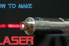 Picture of Powerful Burning Laser