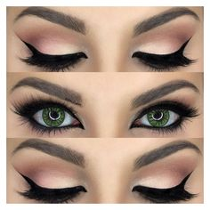 7 Times Eyeshadow Completely Changed Your Look ❤ liked on Polyvore featuring beauty products, makeup, eye makeup, eyeshadow, lauren conrad and lauren conrad eye makeup