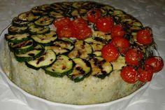 Timballo fresco di riso, semplice, facile e gustoso