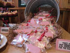 Pig Roast Pig Cookies