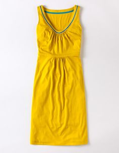 Yellow summer dress from Boden