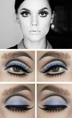 Twiggy Eyes - Retro Hair and Makeup Ideas That Will Transport You to Another Era - Photos