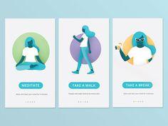 App screens illustration by Jolin Matraku