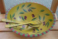 Sherwood Forest olive bowl
