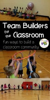 Team Builders: Games to Build the Classroom... by Literacy and Lattes | Teachers Pay Teachers