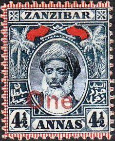 Zanzibar 1899 Sultan Hamoud bin Said SG 194 Fine Used Scott 68 Other Zanzibar Stamps HERE