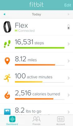The free Fitbit app is designed to work with Fitbit activity trackers and smart scales.