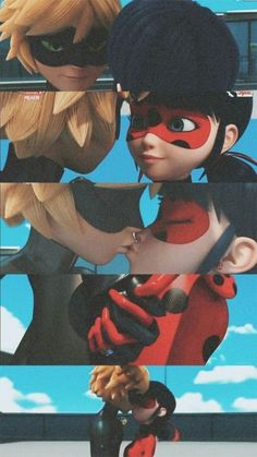 Scroll to the bottom for awesome Miraculous Ladybug Merch! If you haven't heard of Miraculous: Tales of Ladybug and Chat Noir, you have been living under a rock Los Miraculous, Adrien Miraculous, Meraculous Ladybug, Ladybug Comics, Anime Miraculous Ladybug, Ladybug Und Cat Noir, Marinette Et Adrien, Miraculous Ladybug Wallpaper, Adrien Agreste