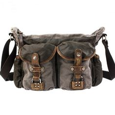 Superior Genuine Cow Leather Canvas Bag / Leather Briefcase / Leather Messenger Bag / Canvas Laptop Bag / Men's Leather Satchel · Handmade Leather Canvas Bags · Online Store Powered by Storenvy Canvas Laptop Bag, Canvas Messenger Bag, Messenger Bag Men, Canvas Bags, Mens Leather Satchel, Leather Briefcase, Cow Leather, Leather Bags, Divas
