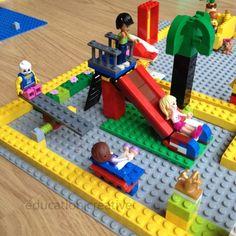 Aire de jeu Lego / Lego playground