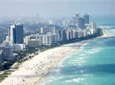 Miami, Flordia because I love warm weather and being at the beach