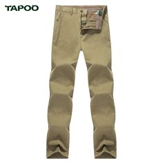 TAPOO 2017 Casual Cotton Brand Men Pants Straight Military Pant Pantalones Hombre Solid Tooling Trousers  MKX1210
