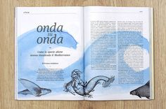 I love this. I love this so much.  Slow II. La rivista di Slow Food by undesign, via Behance