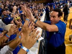 Coach K <3   greatest coach there is.