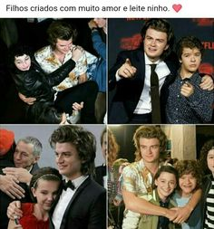 Queria que o Steve fosse a mãe dos meus filhos ❤️... Não, pera 🤔 Millie Bobby Brown, Series Movies, Tv Series, Saints Memes, Joe Keery, Don T Lie, Enola Holmes, Anne Shirley, Stranger Things Netflix