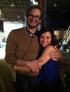 Bryan Fuller (My God) and Caroline Dhavernas (my bby)