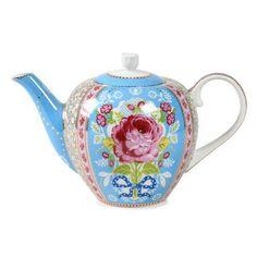Foto 1 - Bule De Porcelana Floral Azul 1600 Ml - Pip Studio