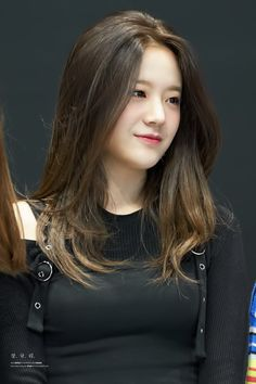 Cute Girls, Cool Girl, Anna Hair, Final Fantasy Girls, Kpop Hair, Indonesian Girls, Ulzzang Korean Girl, Korean Actresses, Girl Bands