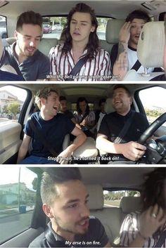 Carpool Karaoke was a blessing