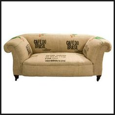 Coffee Sack Sofa
