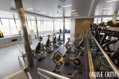 Fitness Center on Anthem of the Seas