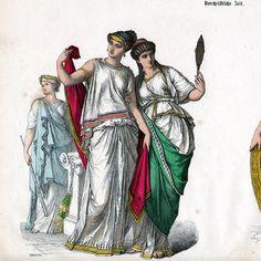 Ancient Greek Clothing | ... prints | Greek Costume - Greek Fashion - Uniform - Ancient Greece
