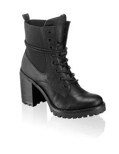 release date: aad19 86b37 1994 Lace Up - schwarz   Schuhe   Boots   Stiefeletten