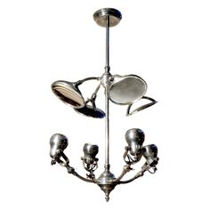 Multibeam Operating Room Lamp | From a unique collection of antique and modern chandeliers and pendants  at https://www.1stdibs.com/furniture/lighting/chandeliers-pendant-lights/