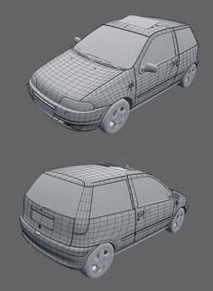 Fiat Punto GT - Polycount Forum