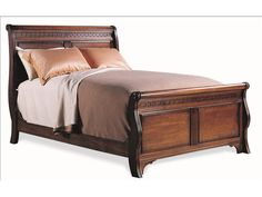 Shop for Durham Furniture Queen Sleigh Bed, and other Bedroom Sleigh Beds at Hickory Furniture Mart in Hickory, NC.