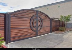 Modern home gate designs - http://homeq0.com/modern-home-gate-designs.html